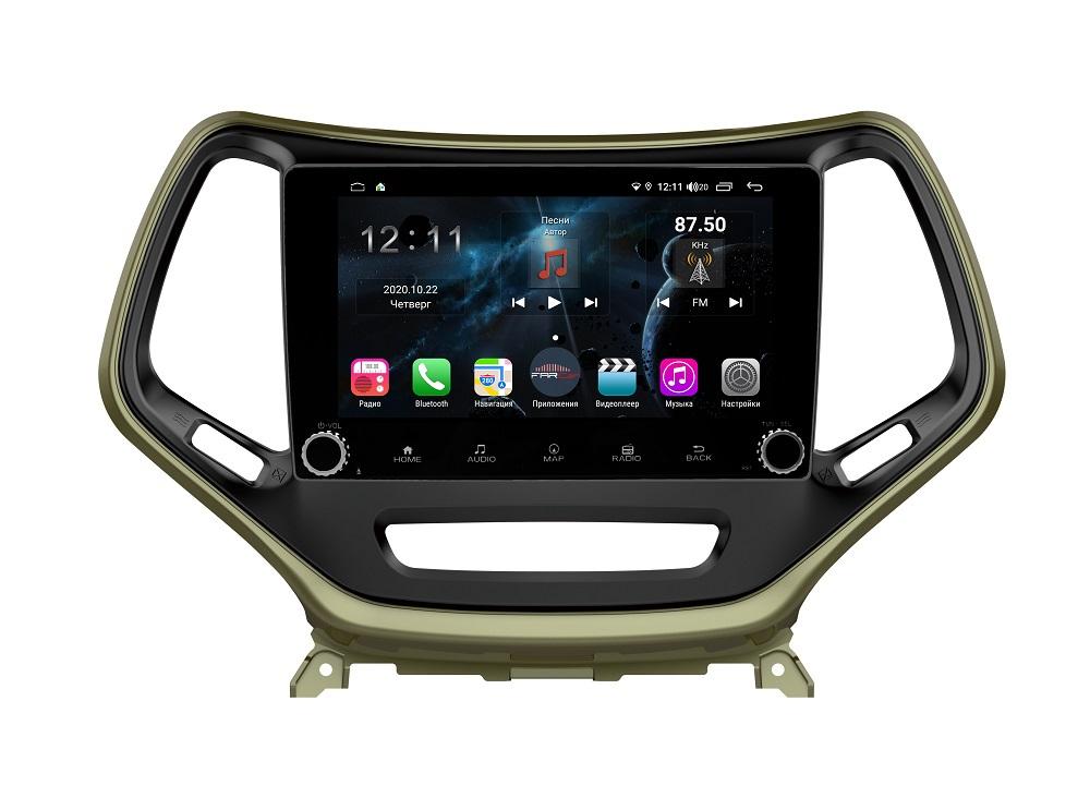 Штатная магнитола FarCar s400 для Jeep Cherokee на Android (H608RB) (+ Камера заднего вида в подарок!)
