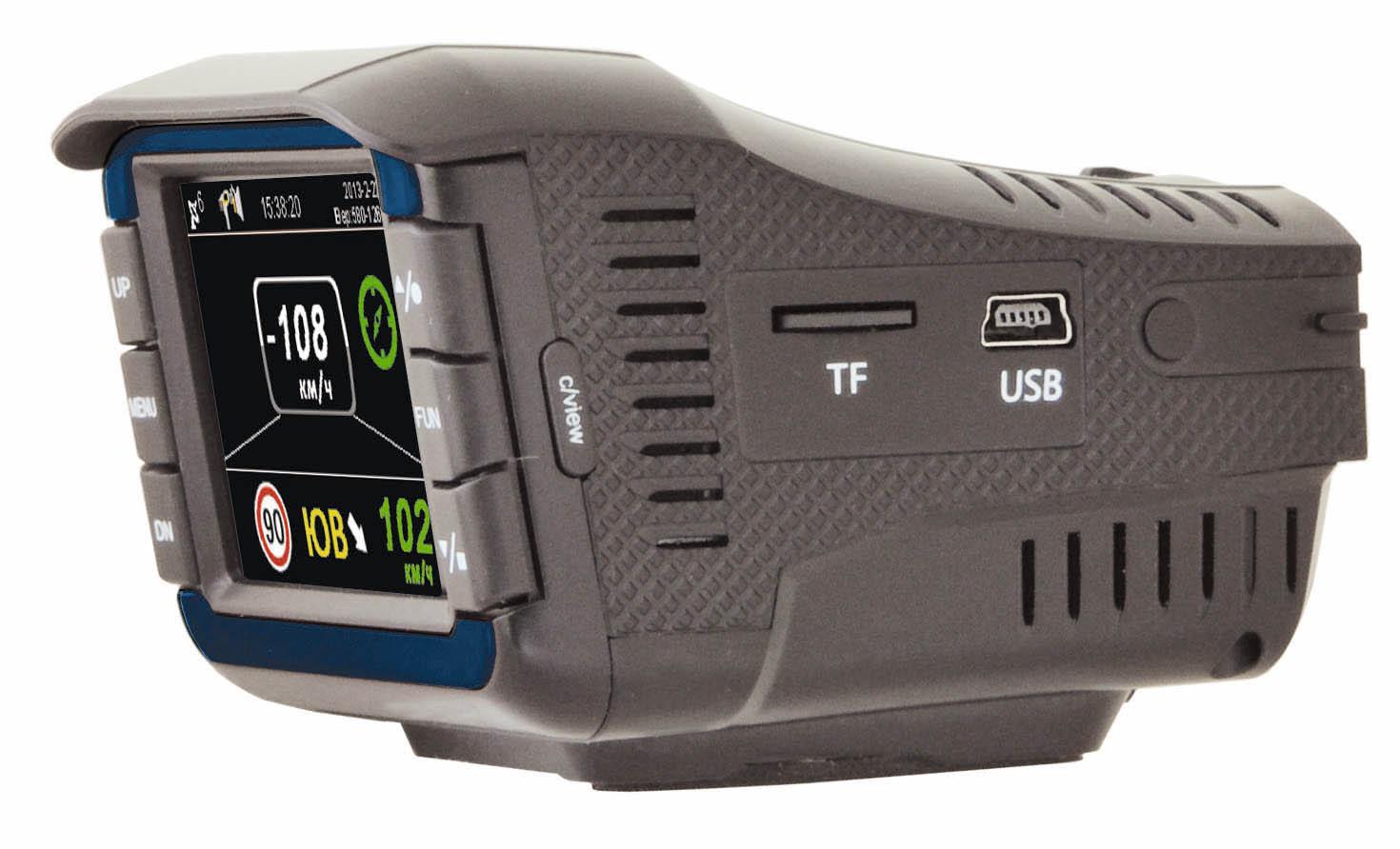 Видеорегистратор с радар-детектором Intro SDR-05