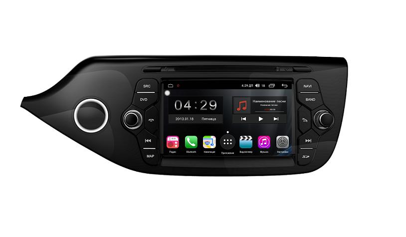 Штатная магнитола FarCar s300 для KIA Ceed 2012+ на Android (RL216) (+ Камера заднего вида в подарок!)