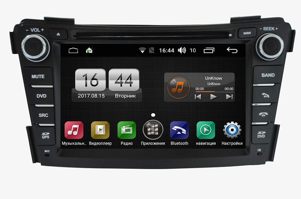 Штатная магнитола FarCar s170 для Hyundai i40 2012+ на Android (L172) farcar s130 hyundai solaris 2010 android r067