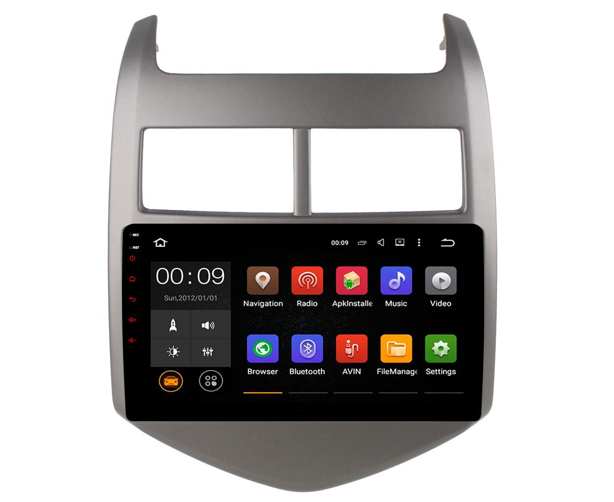 Штатная магнитола Roximo 4G RX-1310 для Chevrolet Aveo 3 (2011-2014) (+ Камера заднего вида в подарок!)
