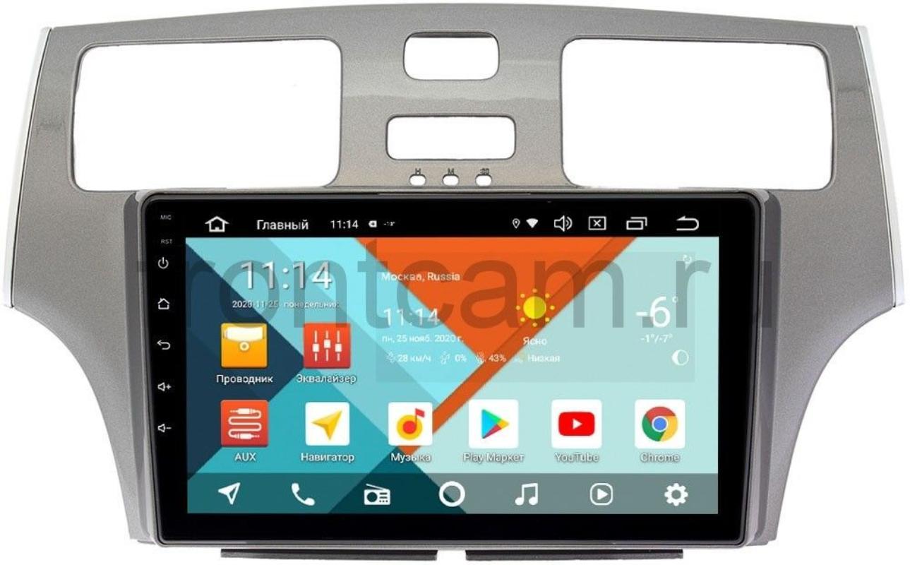 Штатная магнитола Lexus ES IV Wide Media KS9134QR-3/32 DSP CarPlay 4G-SIM Android 10 (+ Камера заднего вида в подарок!)