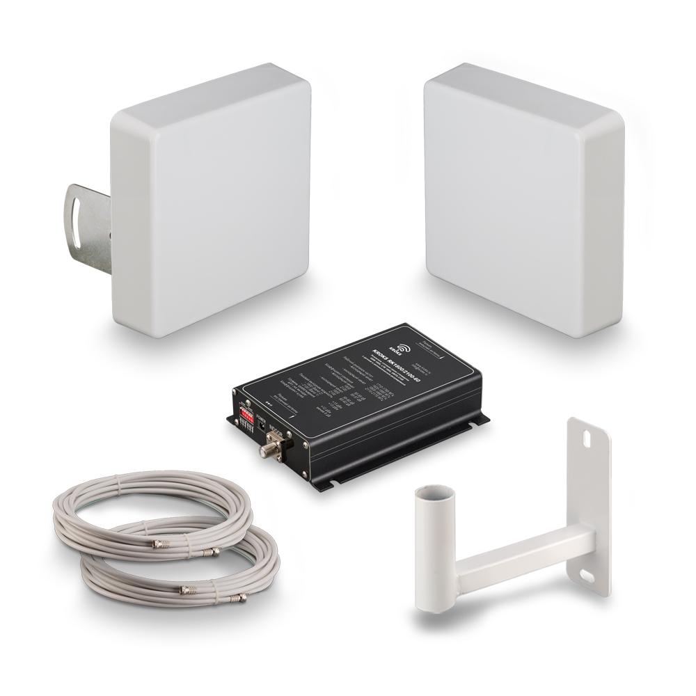 Комплект усиления сотовой связи GSM1800 и 3G Kroks KRD-1800/2100 (+ Кронштейн в подарок!)