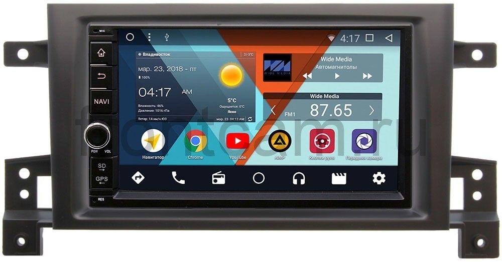 Штатная магнитола Wide Media WM-VS7A706-OC-2/32-RP-SZES3d-14 для Suzuki Grand Vitara III 2005-2015 Android 8.0 фаркоп suzuki grand vitara 97 05