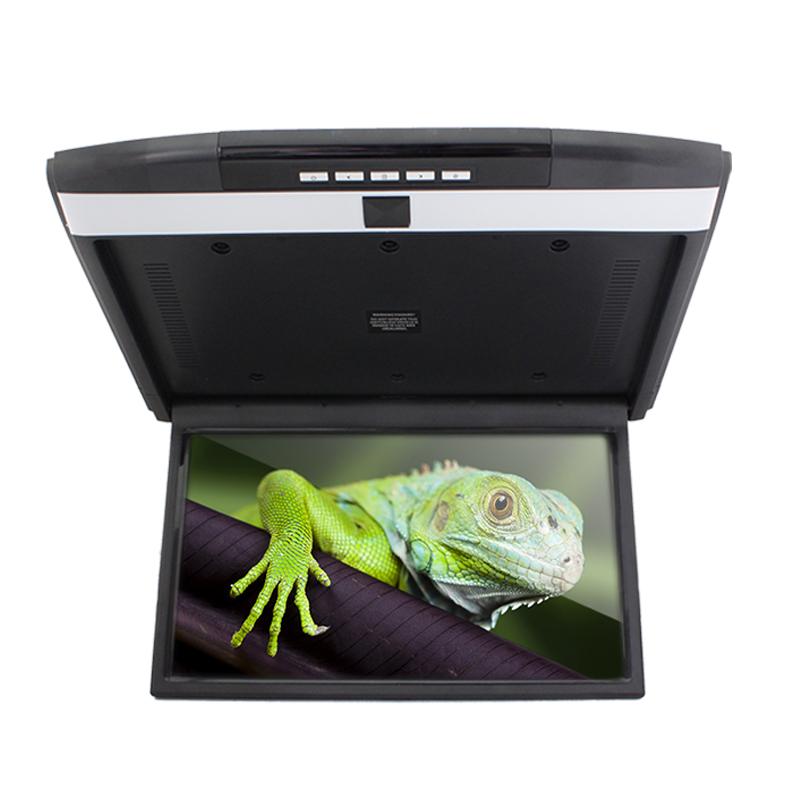 Автомобильный потолочный монитор Full HD 15.6 ERGO ER15AND на ANDROID (черный) (+ Беспроводные наушники в подарок!) автомобильный потолочный монитор 17 3 daystar pd1707fl серый 1920x1080 android