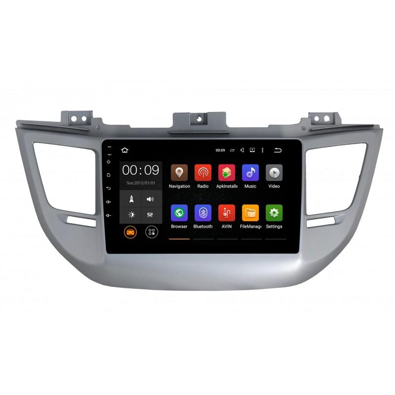 Штатная магнитола Roximo 4G RX-2013 для Hyundai Tucson (Android 6.0) (+ Камера заднего вида в подарок!)