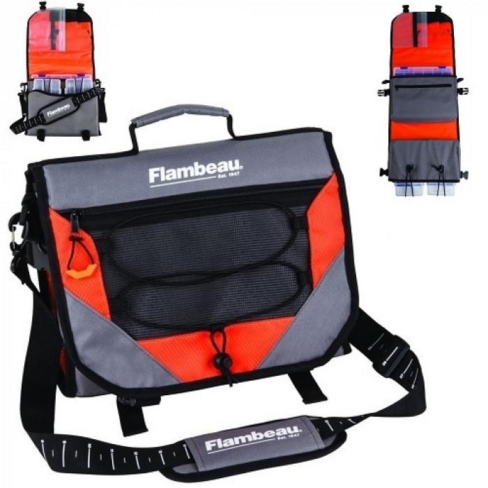 Сумка рыболовная с коробками Flambeau Ritual 43S ON-THE-FLY SATCHEL