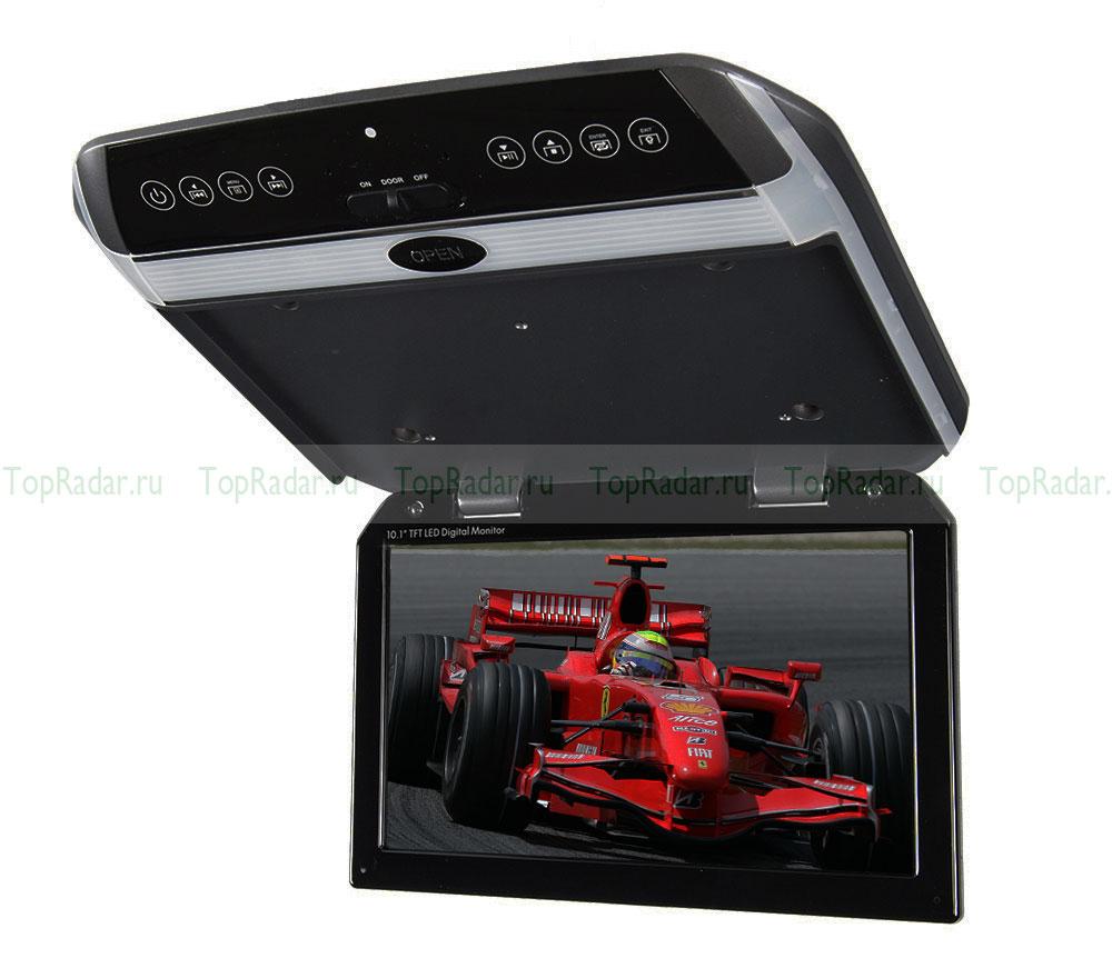 Автомобильный потолочный монитор 10.1 со встроенным медиаплеером ERGO ER102FH