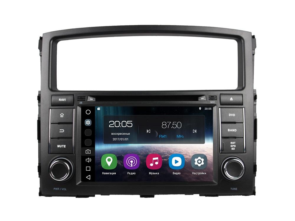 все цены на Штатная магнитола FarCar s200 для Mitsubishi Pajero 2006-2012 на Android (V458) онлайн