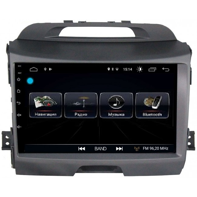 Штатная магнитола LeTrun 1867 для Kia Sportage III 2010-2016 Android 8.0.1 MTK-L 2Gb 7060b 7 inch 12v auto 2 din bluetooth tft screen car audio stereo mp3 mp4 mp5 player support aux fm usb sd mmc