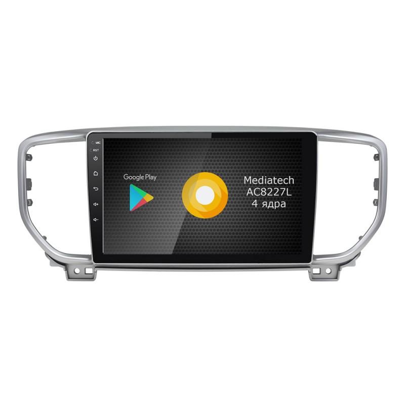 Штатная магнитола Roximo S10 RS-2329 для KIA Sportage 4 2018 (Android 8.1) (+ Камера заднего вида в подарок!)