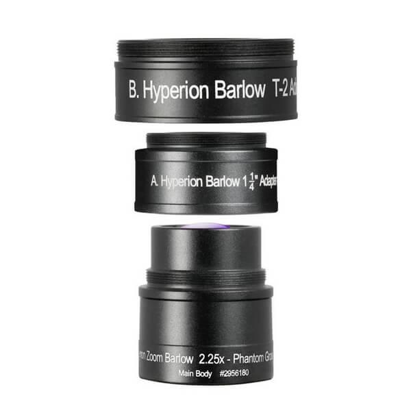 Фото - Линза Барлоу Baader Hyperion Zoom 2,25х линза