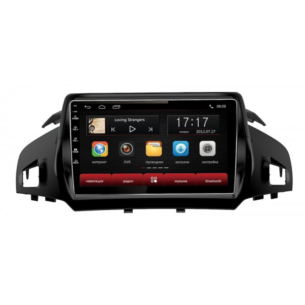 Головное устройство Subini FRD901 с экраном 9 для Ford Kuga 2012+ new arrival ucandas vdm ii wifi automotive scanner vdm2 v3 9 support multi language and android system free shipping