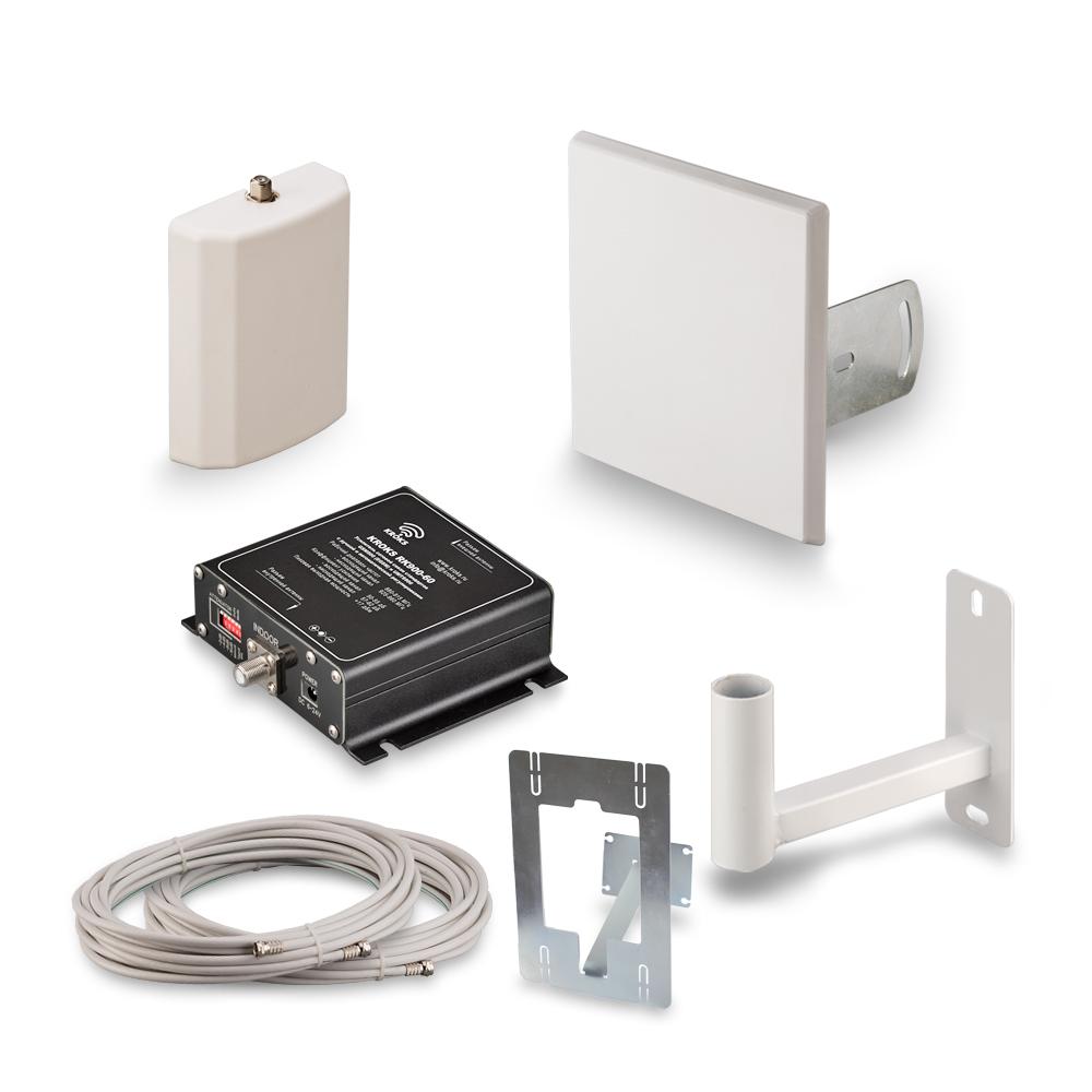 Комплект усиления 3G сигнала сотовой связи Kroks KRD-2100 (+ Кронштейн в подарок!)