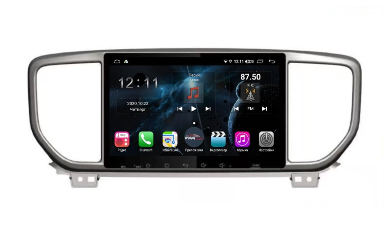 Штатная магнитола FarCar s400 для KIA Sportage на Android (H1143R) (+ Камера заднего вида в подарок!)