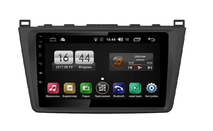 Штатная магнитола FarCar s195 для Mazda 6 на Android (LX012R) (+ Камера заднего вида в подарок!)