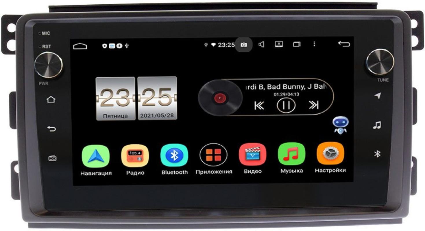 Штатная магнитола Smart Forfour 2004-2006, Fortwo II 2007-2011 LeTrun BPX409-9289 на Android 10 (4/32, DSP, IPS, с голосовым ассистентом, с крутилками) (+ Камера заднего вида в подарок!)