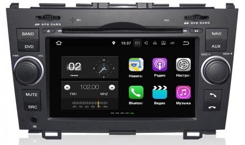 Штатная магнитола FarCar s130+ для Honda CR-V на Android (W009) дефлектор капота artway nissan qashqai 14