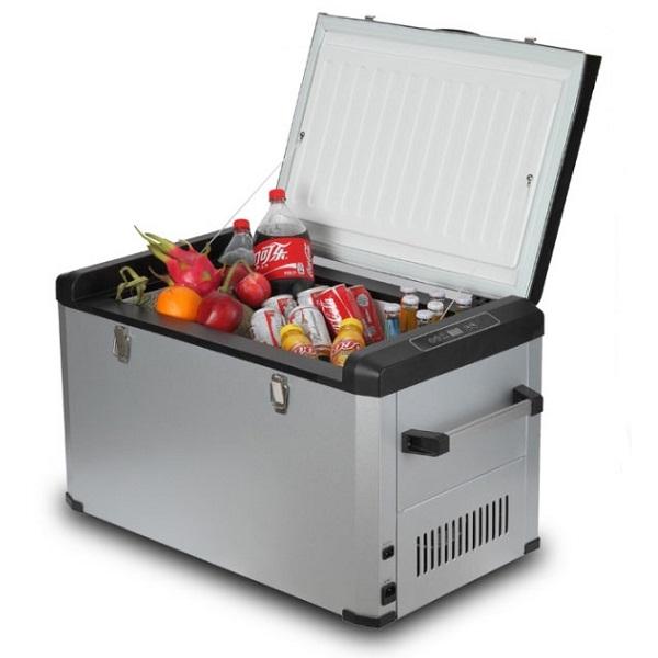 Автохолодильник компрессорный Colku DC-80F (+ Восемь аккумуляторов холода в подарок!)