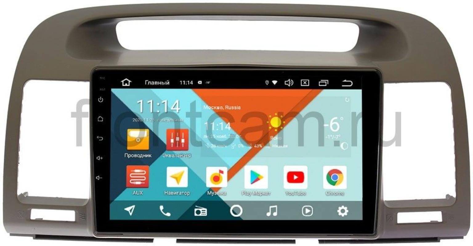 Штатная магнитола Toyota Camry V30 2001-2006 Wide Media KS9105QM-2/32 DSP CarPlay 4G-SIM Android 10 (+ Камера заднего вида в подарок!)