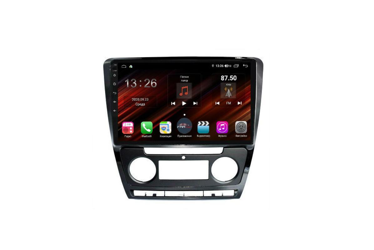 Штатная магнитола FarCar s400 Super HD для Skoda Octavia на Android (XH005R) (+ Камера заднего вида в подарок!)