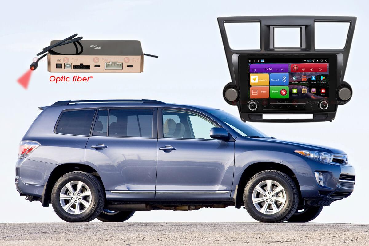 Магнитола для Toyota Highlander RedPower K 51035 R IPS DSP ANDROID 8+ (+ Камера заднего вида в подарок!)