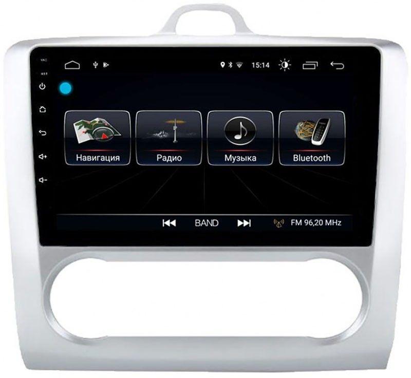 Штатная магнитола LeTrun 2446 для Ford Focus II 2005-2011 (с климатом) на Android 8.0.1 MTK-L 1Gb (+ Камера заднего вида в подарок!)