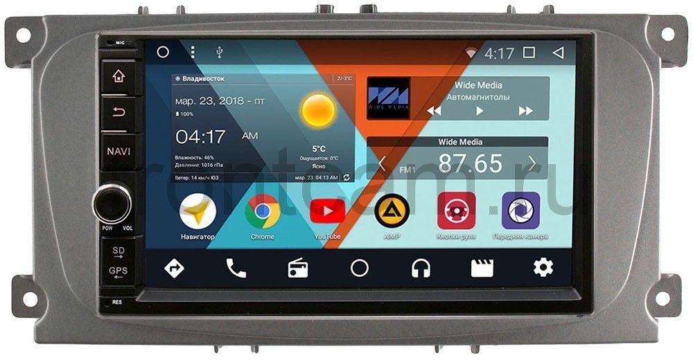 все цены на Штатная магнитола Wide Media WM-VS7A706-OC-2/32-RP-FRCMD-54 для Ford Focus, C-Max, Mondeo Android 8.0 онлайн