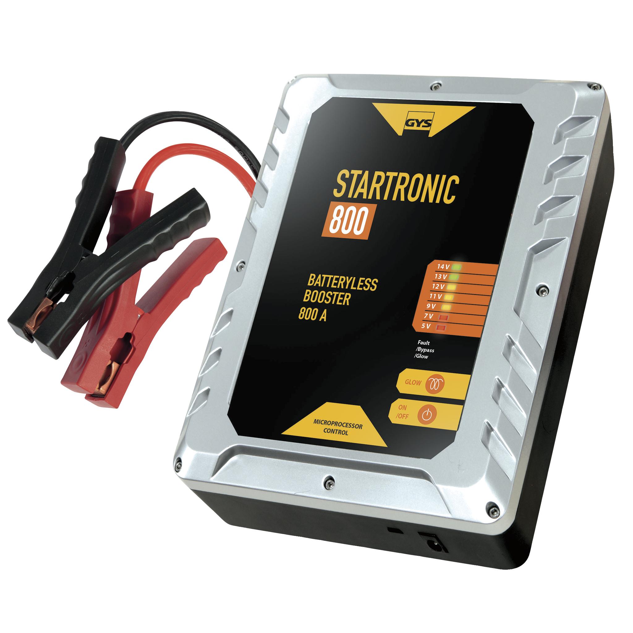 Пусковое устройство конденсаторное STARTRONIC 800(12В, 800А) (+ Power Bank в подарок!) зарядка usb от авто прикуривателя exocharge белая