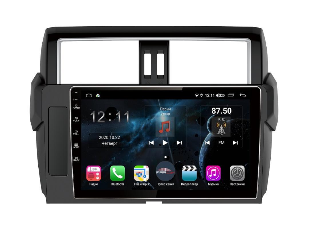Штатная магнитола FarCar s400 для Toyota Lan Cruiser Prado 150 на Android (TG531R) (+ Камера заднего вида в подарок!)