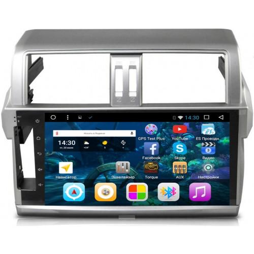 Штатная магнитола Toyota LC Prado 150 2014-2017 2/16 GB IPS Vomi VM2692-T8 Android 7/8 (+ Камера заднего вида в подарок!) штатная магнитола toyota lc prado 150 2014 2017 2 16 gb ips vomi vm2692 t8 android 7 8