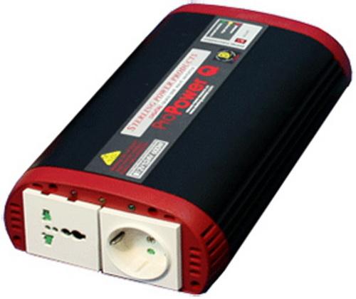 Преобразователь напряжения автомобильный Sterling Power ProPower Q1000(12В > 220В, 1000Вт) преобразователь напряжения автомобильный koto 12v 501 12в 220в 75 вт