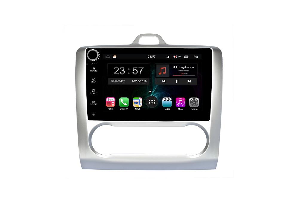 Штатная магнитола FarCar s300-SIM 4G для Ford Focus, Mondeo, C-Max, Galaxy на Android (RG003RB) (+ Камера заднего вида в подарок!)