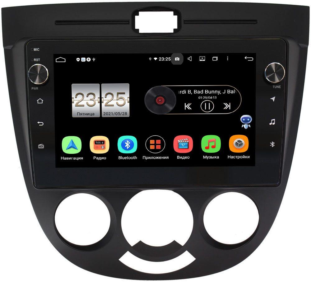 Штатная магнитола Chevrolet Lacetti 2004-2013 (тип 3) LeTrun BPX409-9137 на Android 10 (4/32, DSP, IPS, с голосовым ассистентом, с крутилками) (+ Камера заднего вида в подарок!)