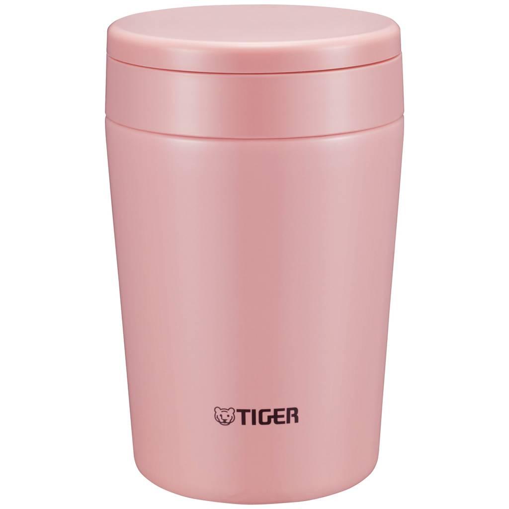 купить Термоконтейнер для первых или вторых блюд Tiger MCL-A038 Cream Pink, 0.38 л (цвет - розовый) (+ Поливные капельницы в подарок!) по цене 3940 рублей