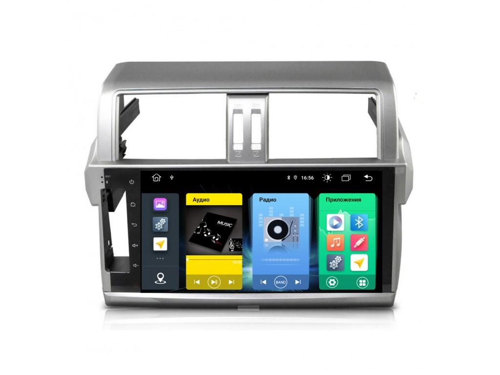 Головное устройство vomi FX361R10-MTK-LTE для Toyota Prado 150 2014-2017 (+ Камера заднего вида в подарок!)
