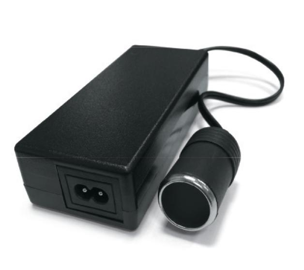 Адаптер сетевой для автоприборов AVS IN-2210 (22012В, 10А) (+ Салфетки из микрофибры в подарок)