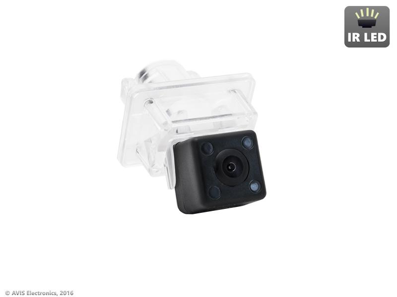 CMOS ИК штатная камера заднего вида AVEL Electronics AVS315CPR (#050) для MERCEDES C-CLASS W204 (2006-...) / CL-CLASS W216 (2006-...) / CLS-CLASS C218 (2011-...) / E-CLASS W212 (2009-...) / S-CLASS W221 (2005-2013)