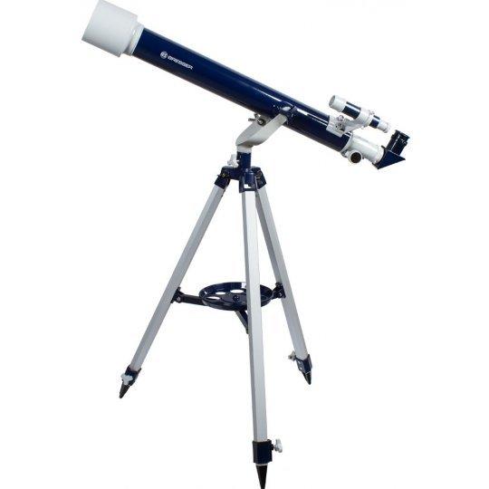 Фото - Телескоп Bresser Junior 60/700 AZ1 (+ Книга «Космос. Непустая пустота» в подарок!) телескоп bresser arcturus 60 700 az книга космос непустая пустота в подарок