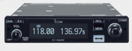 Авиационная бортовая / базовая / мобильная рация Icom IC-A220