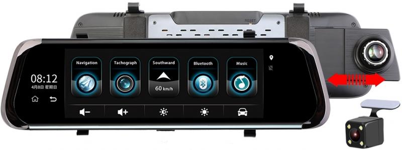 Видеорегистратор RECXON Panorama V2 (+ Разветвитель в подарок!) зеркало заднего вида recxon autosmart gps глонасс android разветвитель в подарок