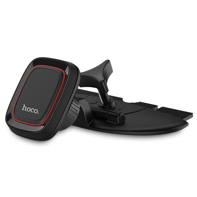 Автомобильный держатель для телефона в CD слот магнитный Hoco CA25
