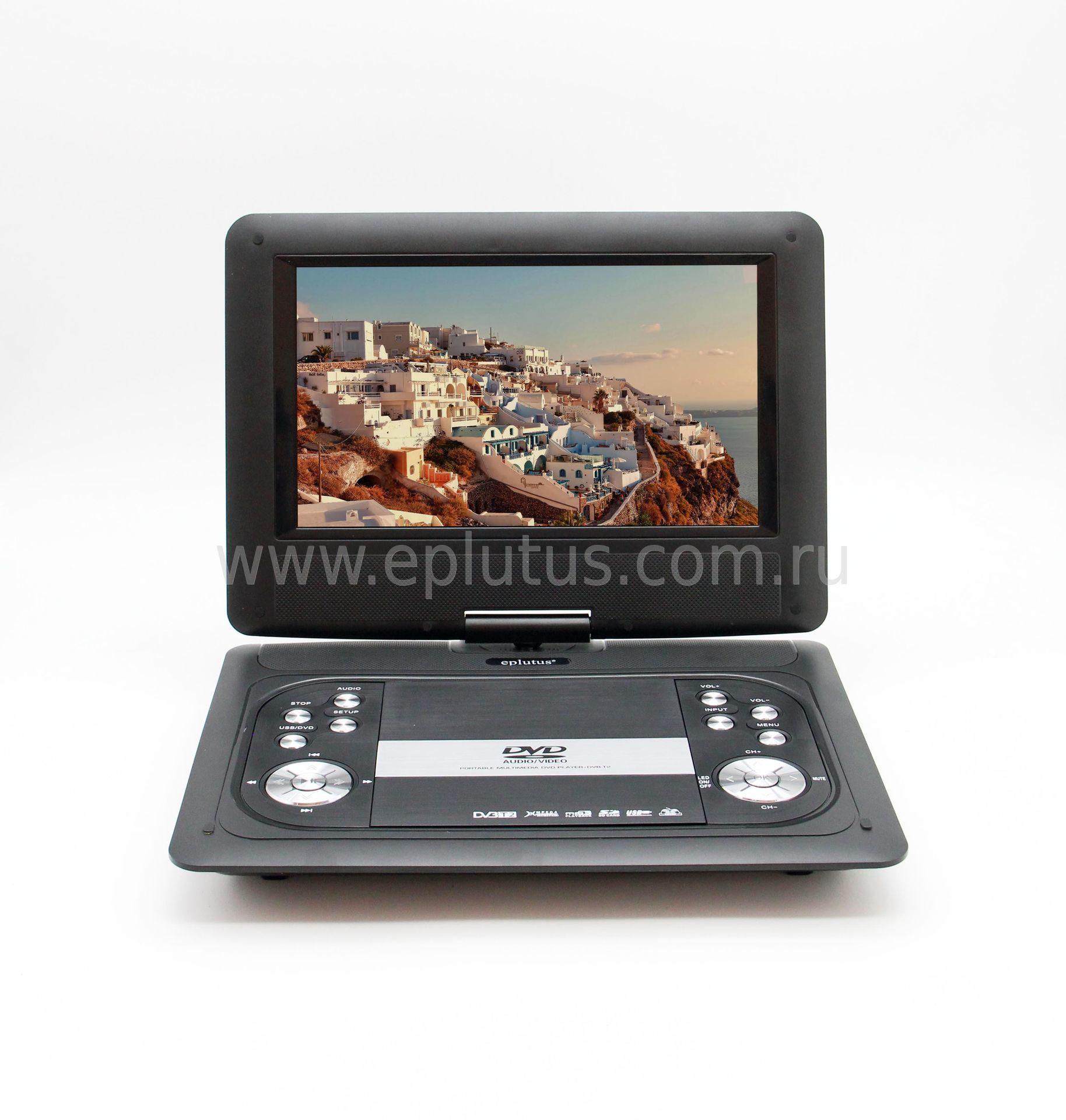 DVD-плеер Eplutus EP-1029T автомобильный dvd плеер lg 2 din mazda 5 dvd gps tv 3g wifi bt usb sd 8