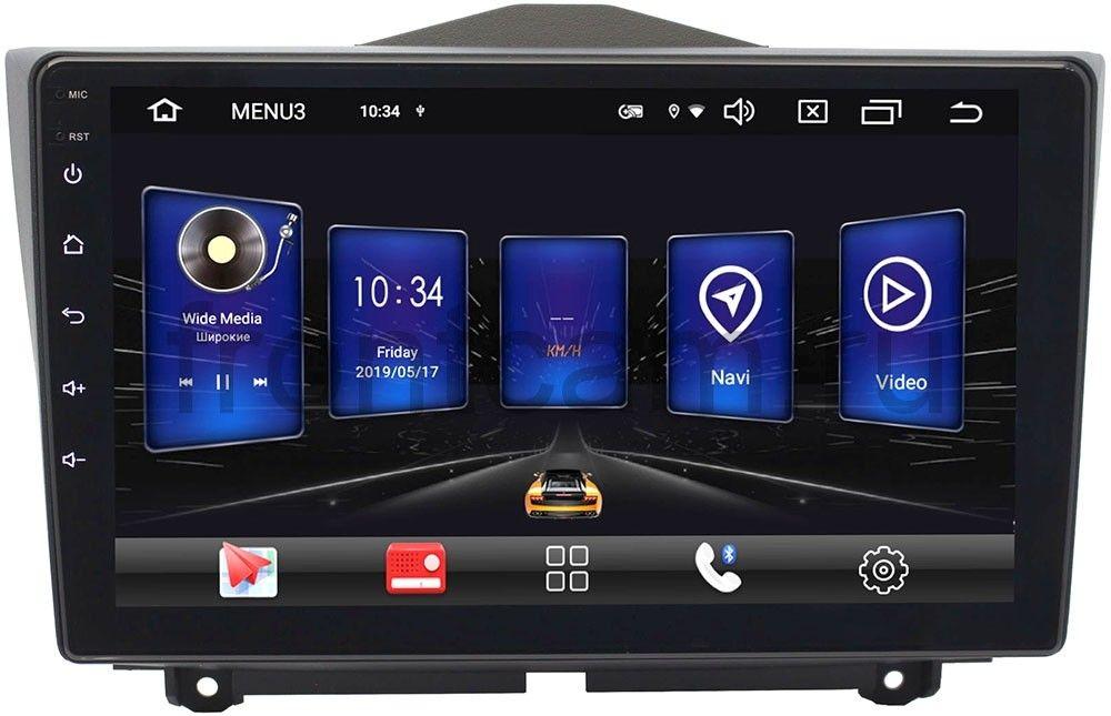 Штатная магнитола Wide Media AL9090PK-2/16 для Lada Granta I 2018-2019 на Android 9 (+ Камера заднего вида в подарок!)