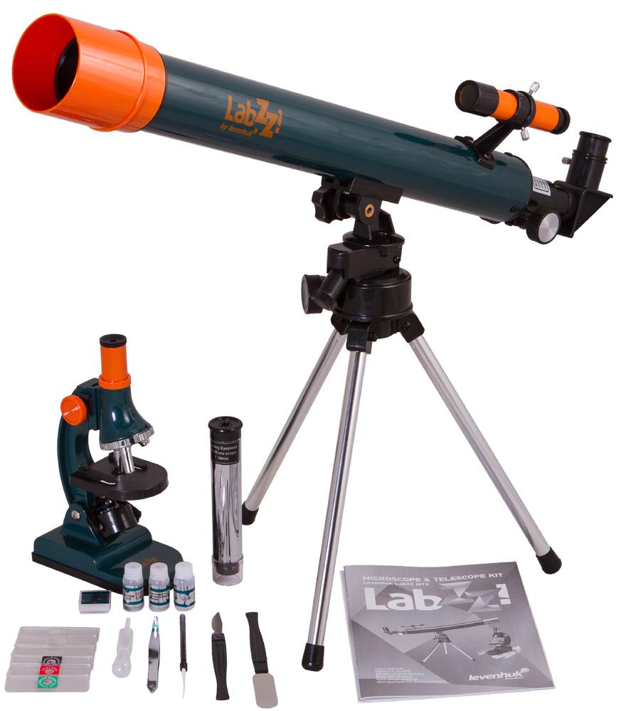 Фото - Набор Levenhuk LabZZ MT2: микроскоп и телескоп (+ Книга «Невидимый мир» в подарок!) набор для творчества клевер цветы из бисера нежный ландыш от 8 лет аа 05 608