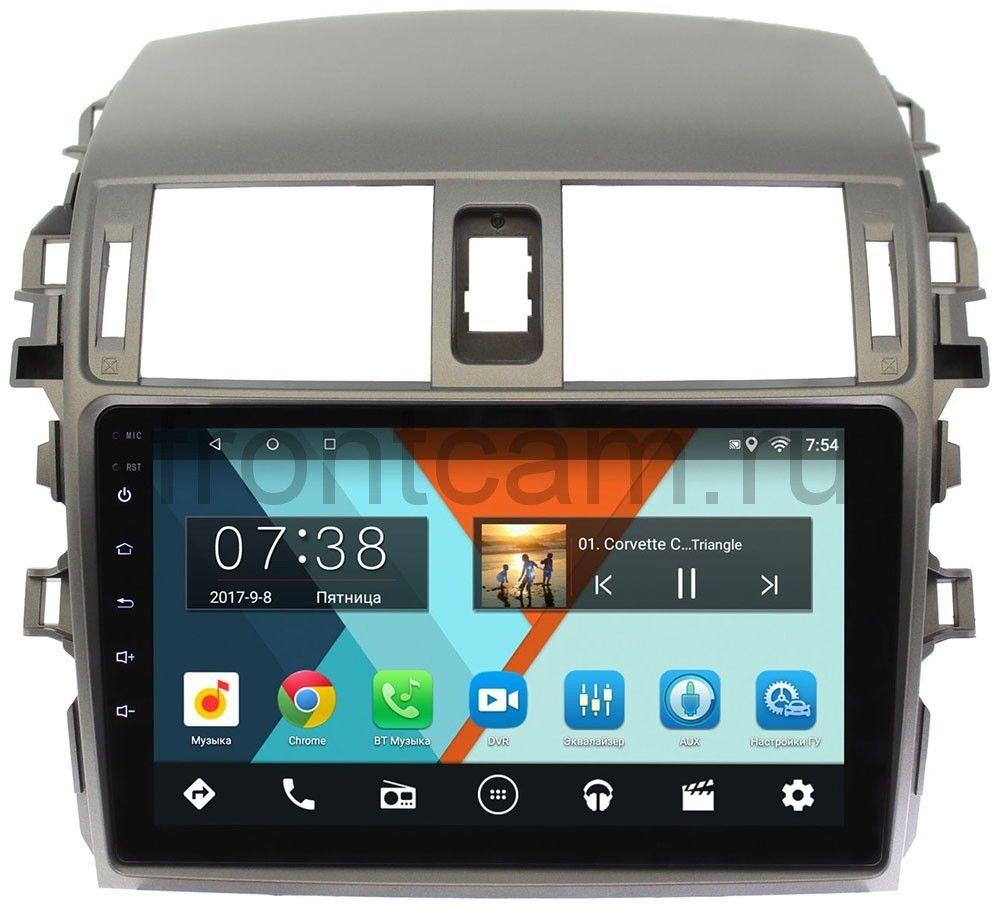 Штатная магнитола Toyota Corolla X 2006-2013 Wide Media MT9061MF-2/16 на Android 7.1.1 (+ Камера заднего вида в подарок!)