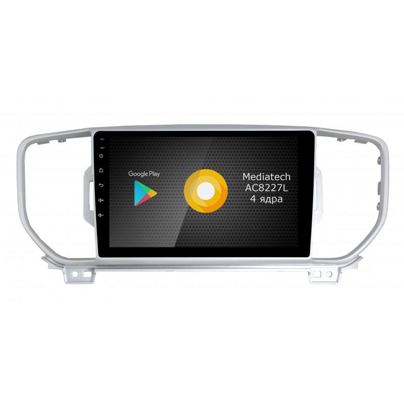 Штатная магнитола Roximo S10 RS-2319-N18 для KIA Sportage 4 2016 (Android 9.0) (+ Камера заднего вида в подарок!)