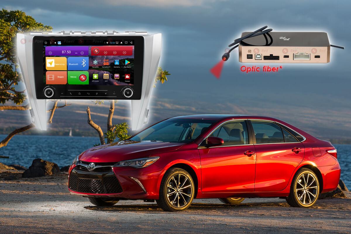 Магнитола для Toyota Camry V55 RedPower K 51231 R IPS DSP ANDROID 8+ (+ Камера заднего вида в подарок!)