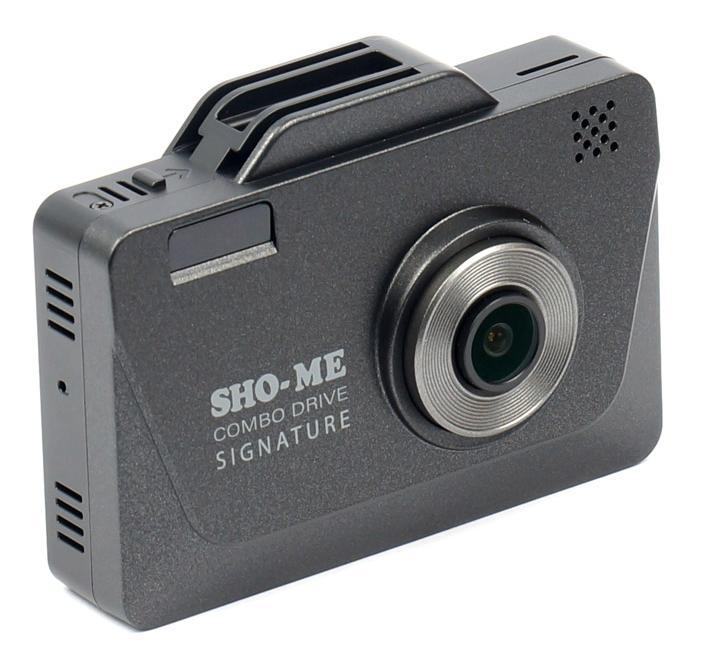 Sho-me Combo Drive SIGNATURE с GPS/GLONASS модулем (+ Разветвитель в подарок!) sho me a7 gps glonass