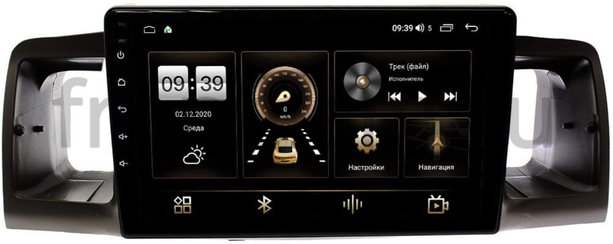 Штатная магнитола Toyota Corolla IX 2000-2007 LeTrun 3792-9074 на Android 10 (4/64, DSP, QLed) С оптическим выходом (+ Камера заднего вида в подарок!)